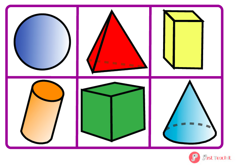 Plane shapes and 3d shapes math is a blast How to make 3d shapes